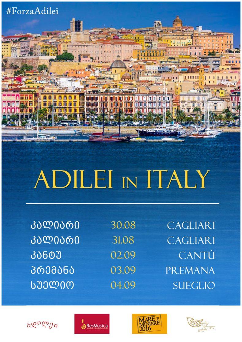 Adilei in Italy