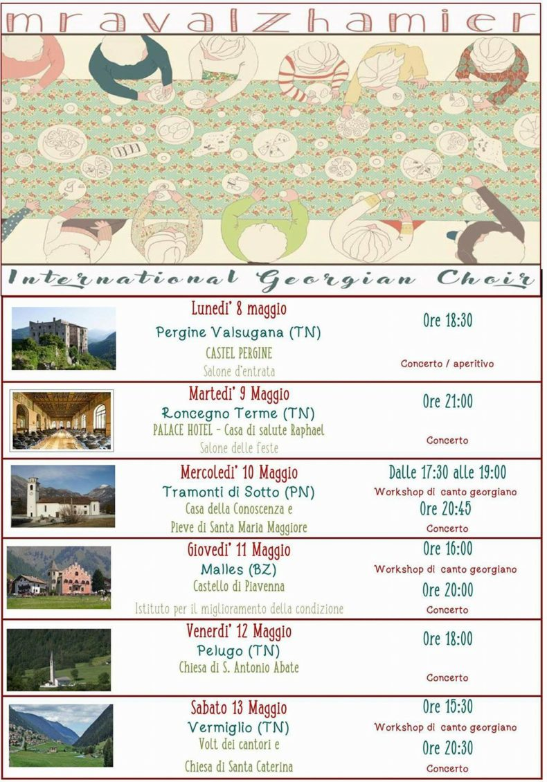 Tour in Italy